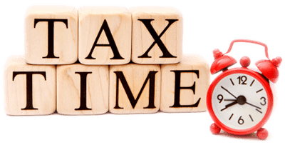 tax time image